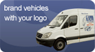 Brand vehicles with your logo